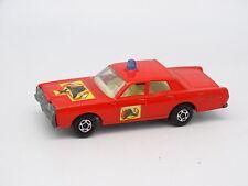 Matchbox 1/64 - Mercury Park Lane Pompiers Fire Chief