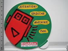Adesivo sticker GOLDSTAR-AUDIO VIDEO TV computer (6634)