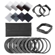 2/4/8/16 ND Filter Complete Kit For Cokin P+Square Filter Holder+Adapter+Hood