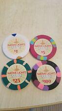 Paulson poker chips Native Lights Casino