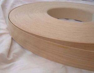Cherry Iron on Edging Pre Glued Wood VeneerTape 40mm wide Various Lengths