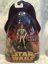 COLLECTORS STAR WARS REVENGE OF THE SITH C-3PO PROTOCOL DROID ACTION FIGURE #18