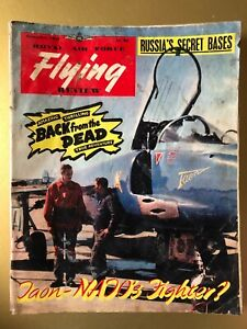 Royal Air Force Flying Review Magazine Nov 1957 Cover Breguet 1001 Taon 16d