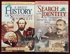 George R Knight Bundle of 2 Books: Brief History of SDA ~ Search for Identity