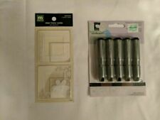 Cricut Color Basic Collection 5 Ink Cartridges 3 Black 2 Brown 29-0420