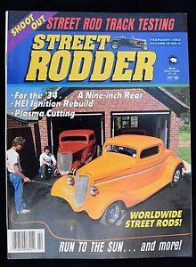 STREET RODDER MAGAZINE - FEBRUARY 1989 - Buiding Custom-Fit Aluminum Fuel Tank