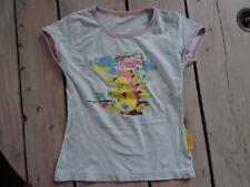T-shirt manches courtes turquoise imprimé Camille la chenille Taille 5 ans