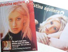 """Christina Aguilera """"First Aussie Tour"""" Australia Promo Poster For First Album"""