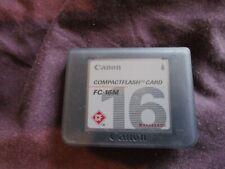 Original Canon 16MB Compact Flash Card CF card