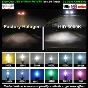 55W HID H1 H3 H4 H7 H8  Bulbs KIT Xenon Conversion Headlight Canbus Error Free