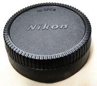 Rear Lens Cap for Nikon Nikkor Ai-s AF-S ED 18-55mm f3.5-5.6 50mm 35mm generic F