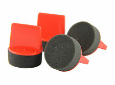 4 PACK--Shoe Polish Dauber Applicator - Ergonomic Grip - Reusable - Premium