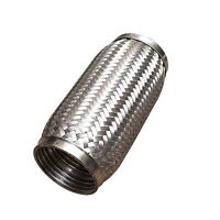 """3""""x8""""Inch Exhaust Flex Tube Joint Flexi  Flexipipe 76mm x 200mm 100% stainles"""