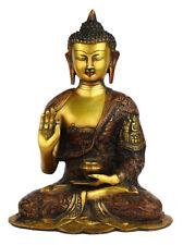 """Hand carved life story bronze brass buddha statue chinese tibet buddhism 11"""""""