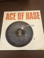"""Ace Of Base - The Sign 12"""" Vinyl 1994 Metronome Records"""