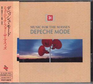 DEPECHE MODE MUSIC FOR THE MASSES JAPAN CD PCCY 00579 OBI