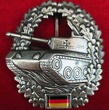 ORIGINAL CURRENT GERMAN ARMY TANK (PANZER) CORP BERET BADGE MEDAL