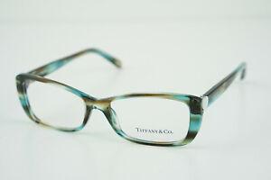 Tiffany & Co. Blue Eyeglasses Frames TF 2090-H 8124 52-16 140 Heart