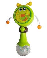 Trommelrassel, Spielzeug, Motorik Rassel, Baby Lernspielzeug mit Musik und Licht