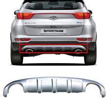 Rear Bumper Dual Diffuser Skid Plate Silve OEM Parts For Kia 2016-18 Sportage