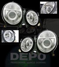 00-02 E Class W210 Projector Headlights DEPO E320 01