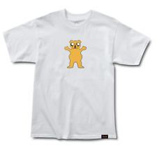 Grizzly Griptape x Adventure Time Homies Help Homies Tee - White - Large