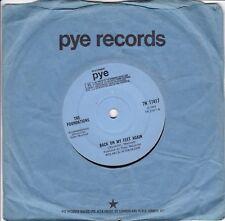 "FOUNDATIONS..BACK ON MY FEET AGAIN..VERY GOOD 1968 PYE POP / BEAT 7""..7N.17417"