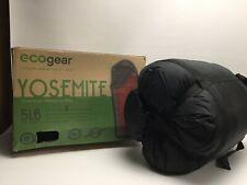 Eco Gear Ecogear Yosimte Oversized Sleeping Bag 0 Degree PVC Free Recycled Poly