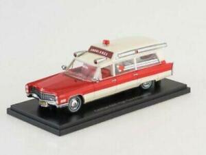 Lot de 2 ambulances 1//43 Compatible avec Cadillac Meteor OPO 10 AMB02+04 Citroen ID19 Break