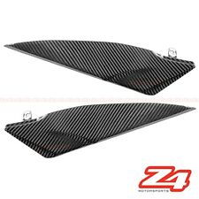 2007 2008 Yamaha R1 Gas Tank Side Trim Cover Guard Fairing Cowling Carbon Fiber