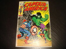 CAPTAIN AMERICA #110  Steranko Silver Age Marvel Comcs 1969 VG-
