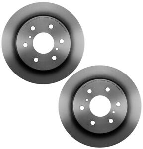 Brembo Pair Set of 2 Rear Disc Brake Rotors Coated 345mm For Chevy Cadillac GMC
