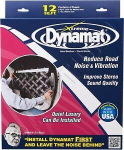 """DYNAMAT 10435 XTREME/EXTREME CAR DOOR KIT SOUND DAMPING DEADENING 4 SHEET 12x36"""""""