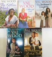 Val Wood Collection Family Sagas 5 Books Set,The Innkeepers's Daughter-New