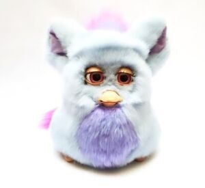 Funky Furby 2006 emoto tronic model 62169 BLUE PURPLE pink eyes Vtg HIGHLY RARE