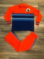 Rare Virginia Cavaliers Sand Knit Warm up Jacket Pants 1970's New Team Issued