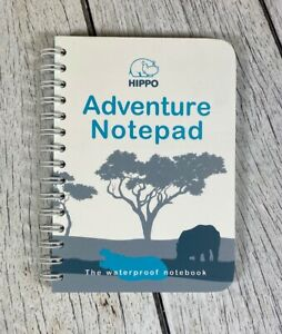 Waterproof Adventure Notepad - All Weather Paper Notebook For Outdoor Hiking
