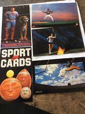 5 -1985 NIKE PROMO CARDS LOFTON, GOODEN, PARRISH, MCENROE--$125 OR B/O