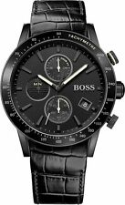 NEW HUGO BOSS HB 1513389 MENS RAFALE CHRONOGRAPH WATCH - 2 YEAR WARRANTY
