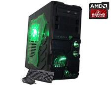 AMD Quad Core Gaming PC Computer 4.0GHz 2TB New Custom Built Desktop System