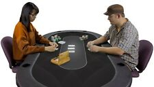 Table Sublimation Poker Felt For Casino High Quality Material Black Tables New