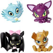 Monster High Mh Vinilo Muñeca Mascotas Figuras Accesorios Set Completo De 4