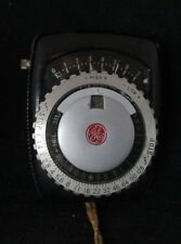 General Electric Exposure Meter Type PR-1 for Film or Plates w/ Case