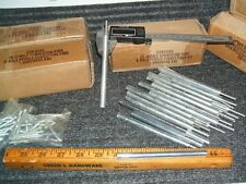 """New listing 100 lot of 10-24 x 4,1/2"""" male female connector pins standoffs + hardware screws"""