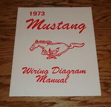 1973 Ford Mustang Wiring Diagram Manual 73