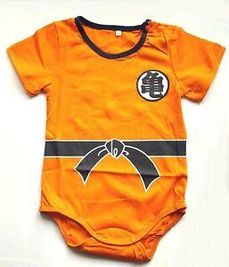 Baby Body Baby Dragon Ball Z Kame Logo Orange Infant Snapsuit