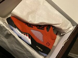 "2021 Air Jordan 5 ""Raging Bull"" Sz 12 DS OG All"
