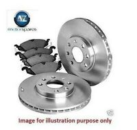 FOR BMW 335D E90 2006 > REAR BRAKE DISCS SET AND DISC PADS KIT+ PAD SENSOR