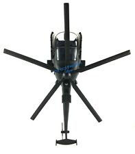 1:18 Scale AH-6 Little Bird Black Helicopter - Fits 21st Century Figures