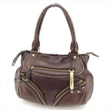 COLE HAAN Bag Handbag Brown Beige Leather Suede Woman T8098